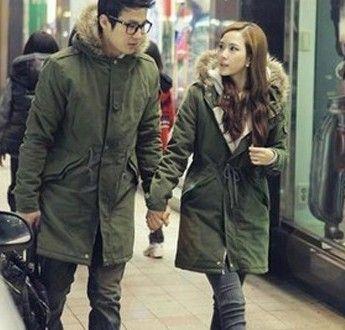 情侣冬装搭配图片 时尚服装为爱升温