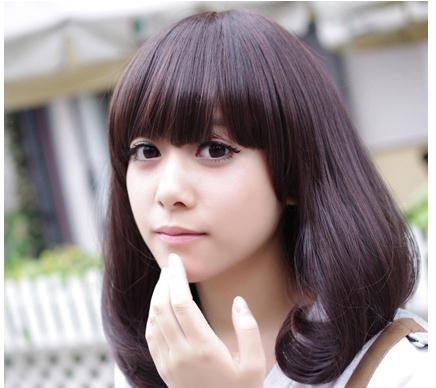 圆脸适合的发型 8款精选梨花头发型_jms图片