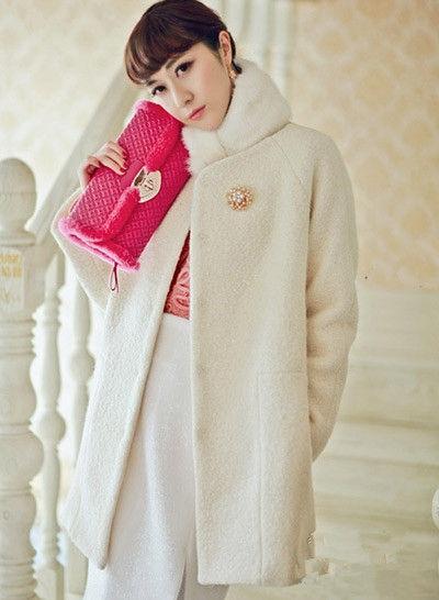 冬装搭配 呢子外套时尚穿法