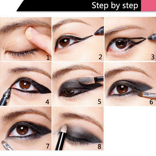 眼妆的画法视频_猫眼妆化妆教程_怎么画猫眼妆_猫眼妆的画法_淘宝助理