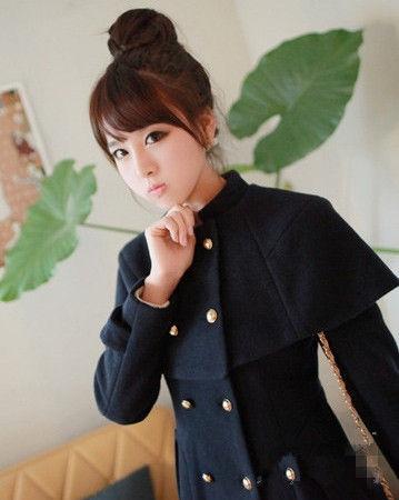 韩国女生头像丸子头