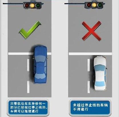 驾驶机动车违反道路交通信号灯通行的