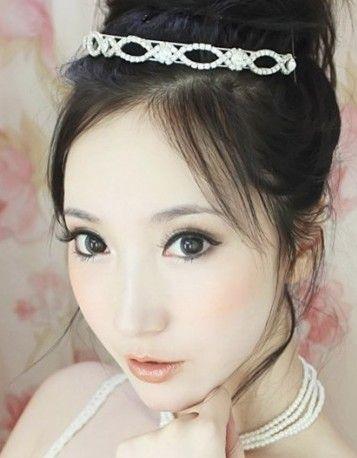 韩式新娘妆怎样画 轻松打造最动人新娘妆容图片