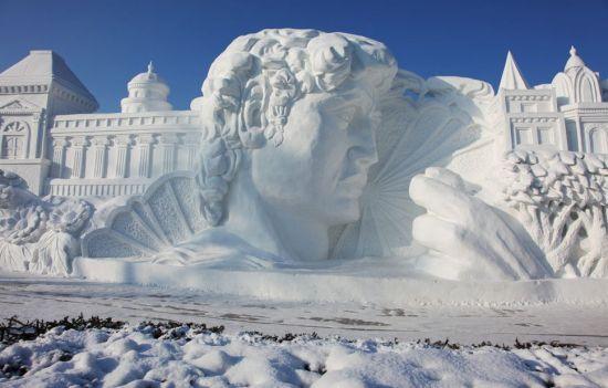 太阳岛冬季景观