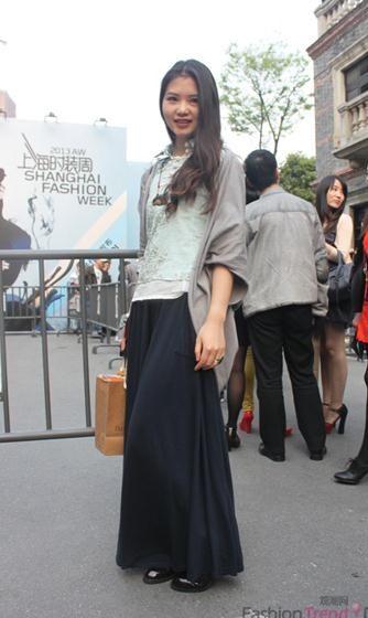 上海时装周精彩时尚街拍回顾图片