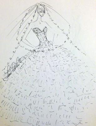汉服设计图手绘展示