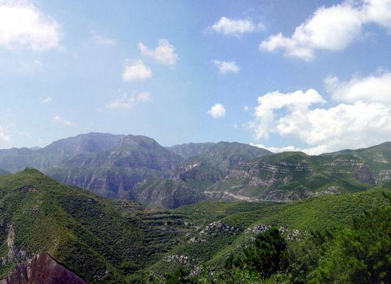 二龙山旅游风景区;;; 二龙山风光;