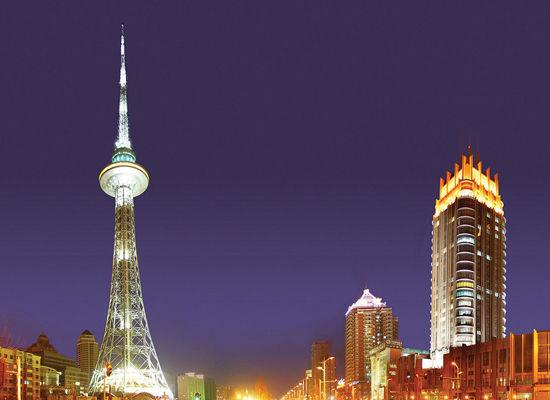 哈尔滨风景 龙塔
