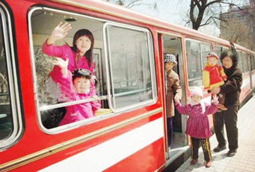 儿童公园小火车