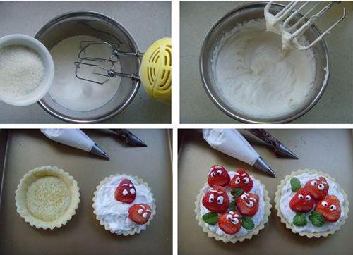 草莓挞制作步骤图解