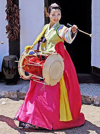 五常民乐朝鲜族乡歌舞表演