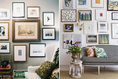 创意家居:照片墙的现代创意设计参考
