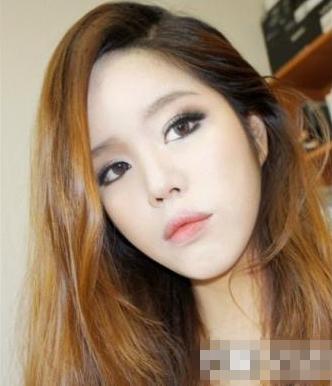 韩国无辜大眼妆教程_灵鸾妮妮_初学化妆