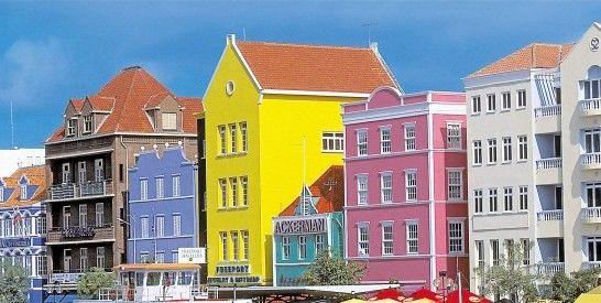 世界建筑简笔画彩色