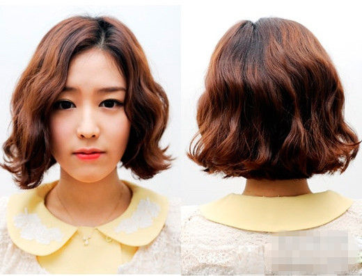 2013女生发型 几款韩式蛋卷头最优雅可爱