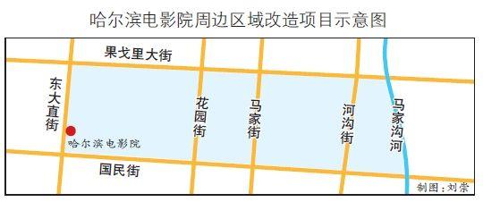 本报讯(记者 徐光胜)昨天,2013中国黑龙江俄罗斯远东区域合作暨大型企业项目洽谈会举办黑龙江省投资发展潜力推介会,哈尔滨电影院周边区域改造项目面向与会者招商。该项目拟建总占地面积10.3万平方米的超大型城市综合体。其中,哈尔滨电影院建筑物的去留问题目前尚未确定。   该项目位于哈市黄金商业区秋林商圈核心地段,东起果戈里大街,西至国民街,南起马家沟河,北至东大直街。依据现状该项目分为4个区域:第一区域东起果戈里大街、西至国民街、南起花园街、北至东大直街,占地面积4.