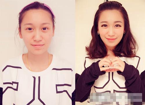 韩国可爱妆容画法教程