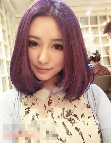 气质中分短发发型推荐 清新瘦脸时尚首选图片