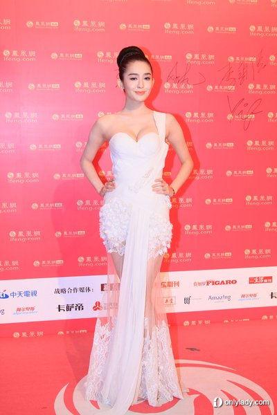刘雨欣古力娜扎性感拼罩杯图片