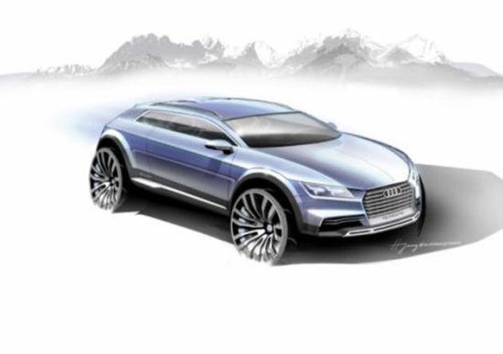 """不过表示这款概念车将会是一台""""汇聚视觉元素的未来  大尺寸轮毂搭配"""