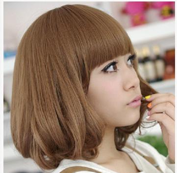 全新韩式风格的短发烫发发型