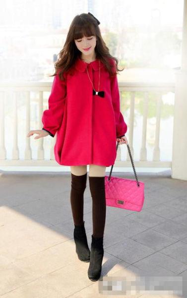 冬季长筒袜显瘦搭配 演绎丝袜绝美穿搭法则