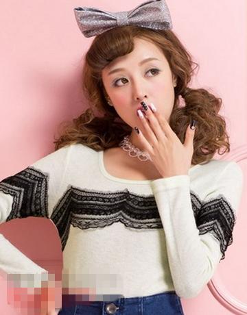 韩国甜美可爱发型推荐 娇俏卷发修脸最迷人