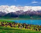 围观新疆四大美人湖