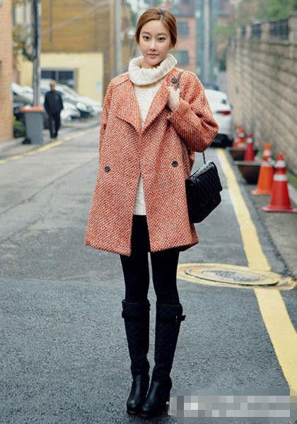 今年新款羊绒大衣_2017年流行的外套新款-今年流行什么外套女款/今年流行什么冬季 ...