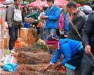 正月十五去偷菜中国少数民族元宵节风俗