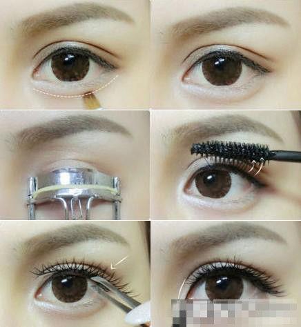 简单大眼妆的画法步骤