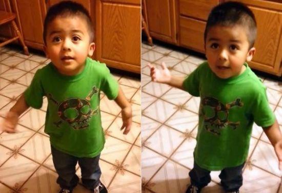 《纽约每日新闻》3月12日报道,近日,美国一个3岁的小男孩为吃纸杯蛋糕