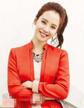 韩国国民女神宋智孝清新示范最具魅惑感的韩式扎发,因为主持《running