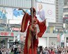 重庆闹市办钢管舞比赛