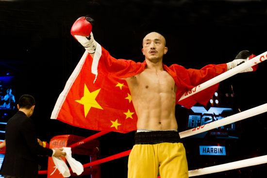 昆仑决3 中国武僧一龙醉拳完胜韩国拳王图片