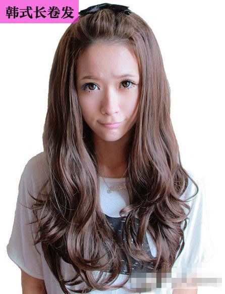 韩式古装发型步骤图解