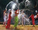 三月三少数民族特色节庆去傣族享湿身之乐