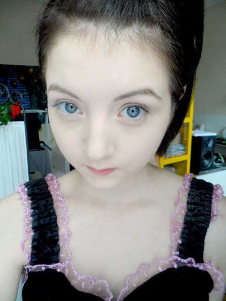 Real life anime without makeup