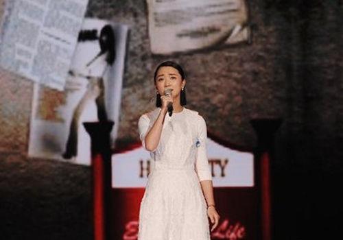 张瑶录制央视音乐节目独特声线翻唱经典