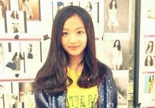 韩国11岁萌妹女神:少时Tiffany师妹(组图)