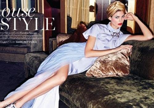 印度王妃登杂志尽显雍容华贵超模风