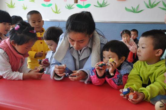 绥棱农场幼儿园举办特色课堂