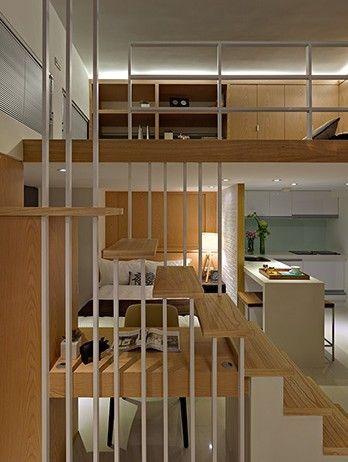 案例二:120平loft风格新成屋