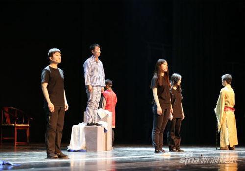 北京大学剧星风采大赛看校园戏剧(组图)
