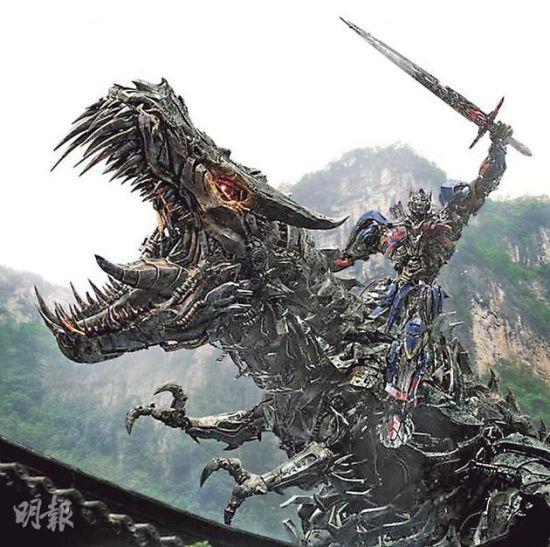 《变形金刚4》下月袭香港欲搞世界首映礼
