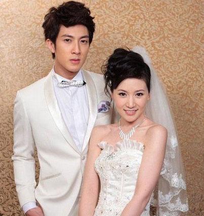 吴尊老婆林丽莹婚纱照曝光 从简至极图片