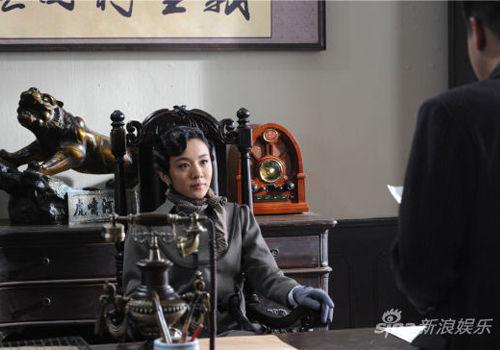 王晓晨新剧变女军统剧中恋情扑朔迷离