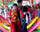 广西毛南族奇趣婚俗婚礼分男婚礼和女婚礼