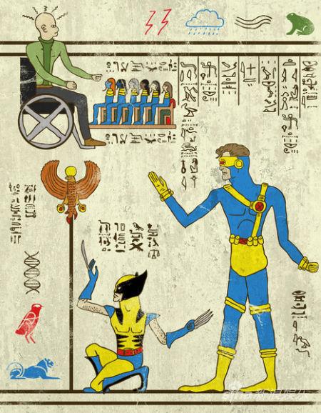 《X战警》彩蛋解读古埃及第一个变种人