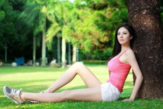 中国第一黄金比例美女艾尚最新照片(图)(4)